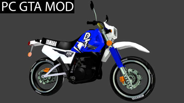 Free Download  Yamaha DT 175  Mod for GTA San Andreas