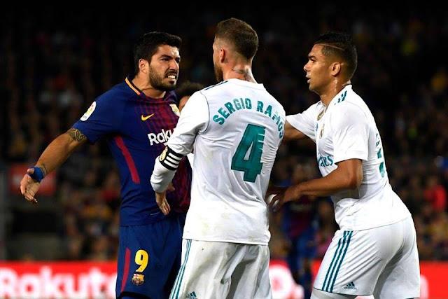 برشلونة يتعادل مع ريـال مدريد