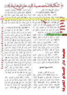 Wahabi Palsukan Sahih Bukhori Demi Menyerupakan Allah Dgn MahluqNYA2