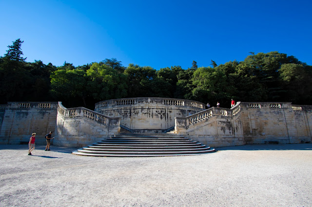 Jardin de la fontaine-Nimes