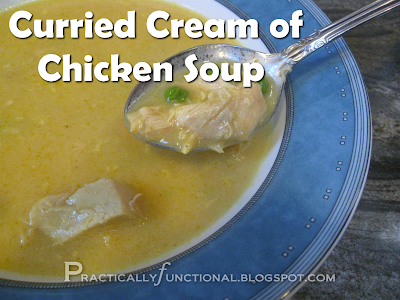 Curried cream of chicken soup