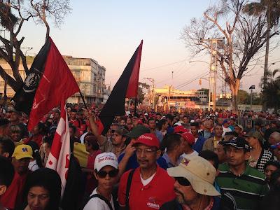 En Aragua: A 27 años del Despertar de Venezuela, el pueblo se movilizó en contra de LA INJERENCIA