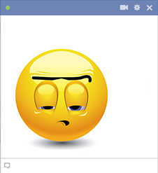 Dull Facebook Emoticon