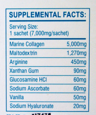 Belo Nutraceuticals Collagen Powder Drink Ingredients