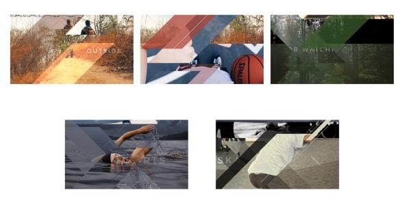 قالب افتر افكت 5 انتقالات احترافية للصور والفيديوهات