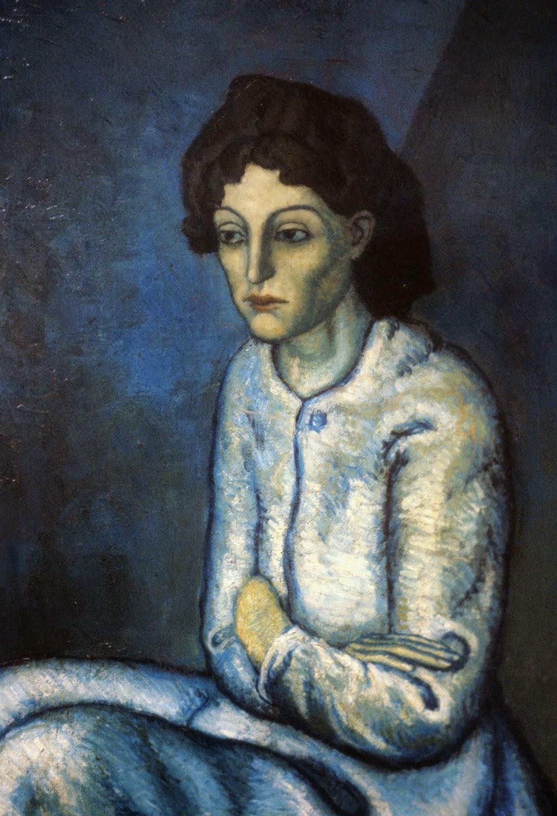 Mulher com Braços Cruzados - Picasso e suas pinturas ~ O maior expoente da Arte Moderna