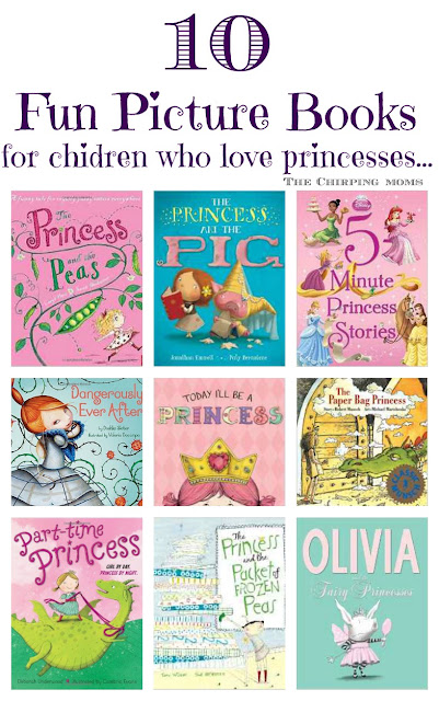 Princess Books for Kids || The Chirping Moms