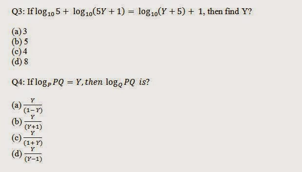 Logarithm Problem with Answer