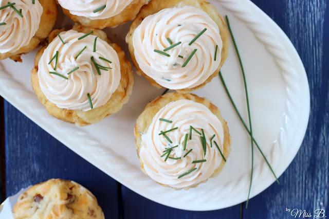 Anzeige: Herzhafte Lachs-Schnittlauch-Cupcakes: So schmeckt Freundschaft mit  Villeroy & Boch