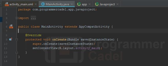 activity java