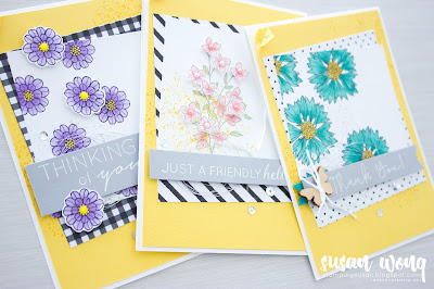 Another Wonderful Year + Touches of Texture by Stampin' Up! - Set of Cards by Susan Wong