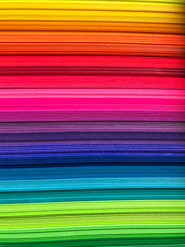 Astrobrights vibrant colors of card stock!