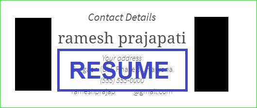 Resume Kaise Banaye Step By Step Basic Jankari Sabhow