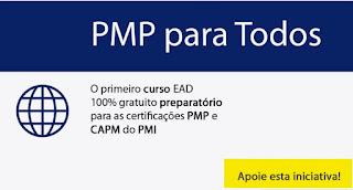 Curso EAD 100% preparatório para certificação PMP