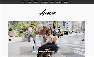 Acacia Minimal Template