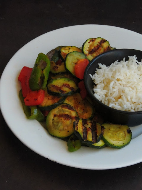 Gluten free grilled vegetables