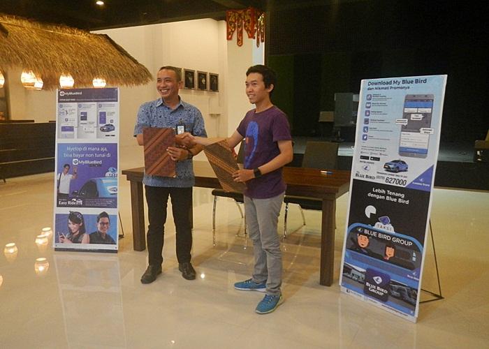 Launching Promo Diskon Kerjasama Lombok Taksi dan Sasaku Senggigi