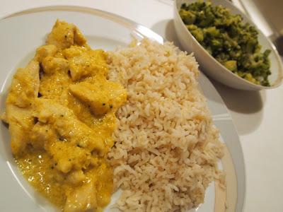 dieta di pollo e riso