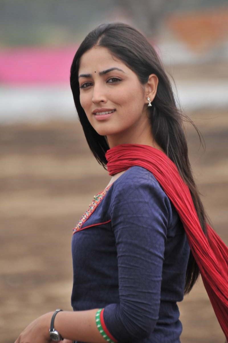 fair and lovely Yami gautham latest photos from gouravam movie