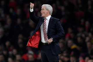 Stoke City Boss Angrily Leaves Post Match Conference