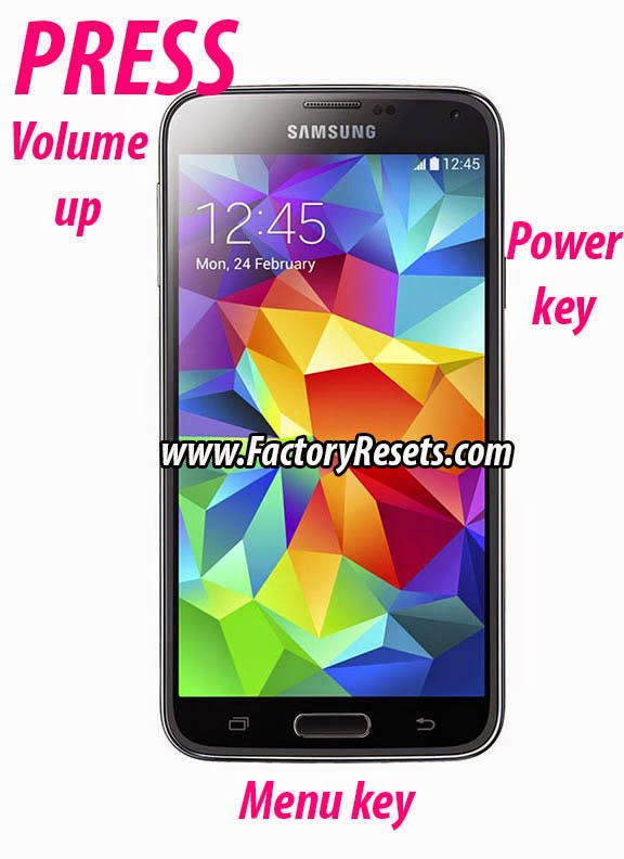 Hard Reset Samsung Galaxy S5 Plus SM-G901F