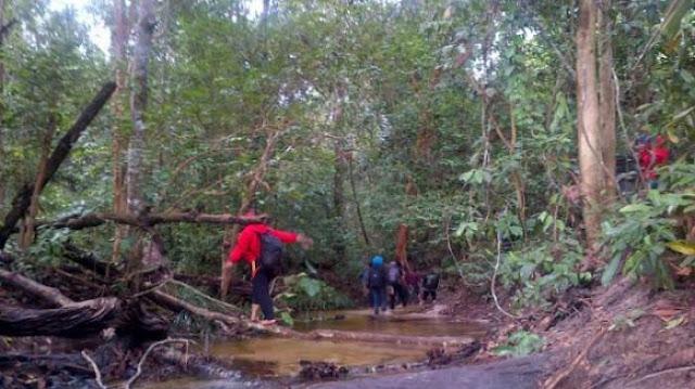 Akses Jalan Menuju Lokasi Air Terjun Gunung Maras