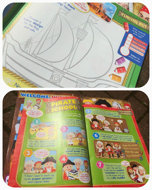 Swashbuckle magazine, colouring