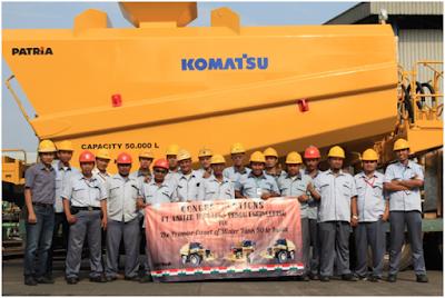 Lowongan Kerja PT United Tractors Pandu Engineering (PATRiA) Menerima Karyawan Baru Penerimaan & Penempatan Seluruh Indonesia