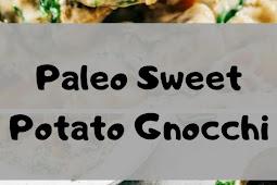 Paleo Sweet Potato Gnocchi In Spinach Cream Sauce