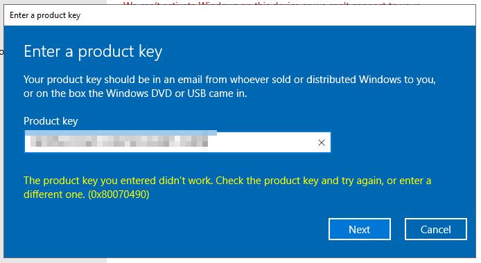 msbiro net: Windows Server 2019 how activate your server in case of