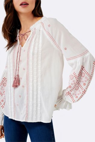 forever new boho blouse