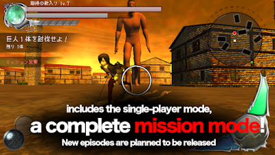 Screenshot Game BattleField (Attack On Titan) For Android