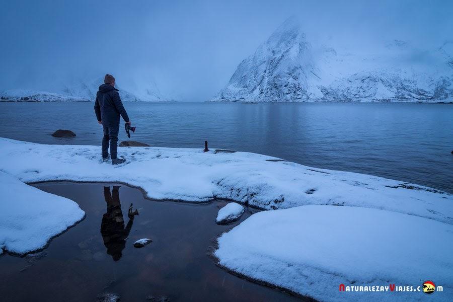 Fran Ojeda en Islas Lofoten