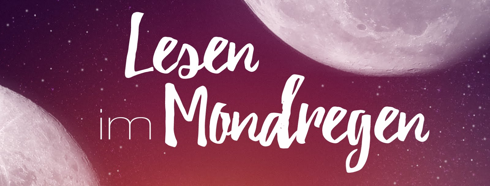 Lesen im Mondregen