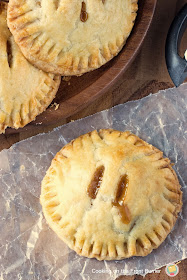 Apple Hand Pies are handheld versions of classic apple pie. Easy to make, this is the perfect snack or dessert recipe!