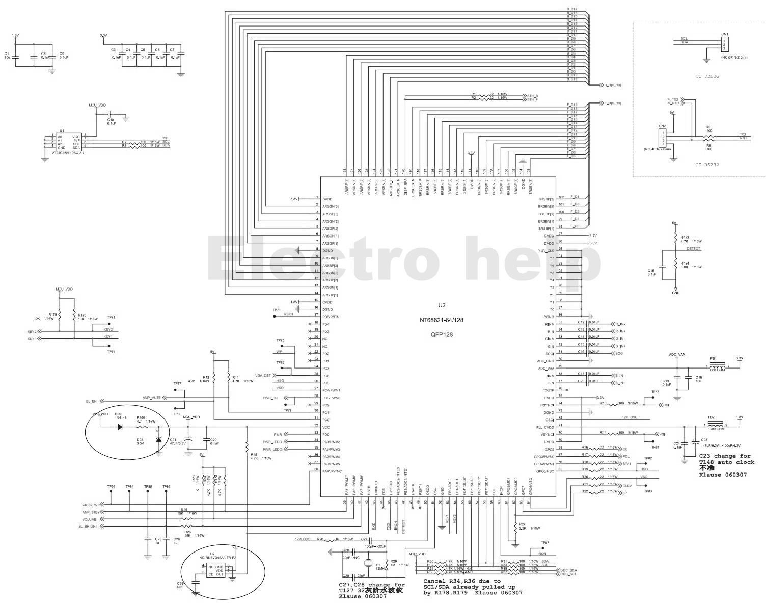 Sony Kv29x5a Crt Tv Smps Str F And Aoc T76cm5mdf1a1nip
