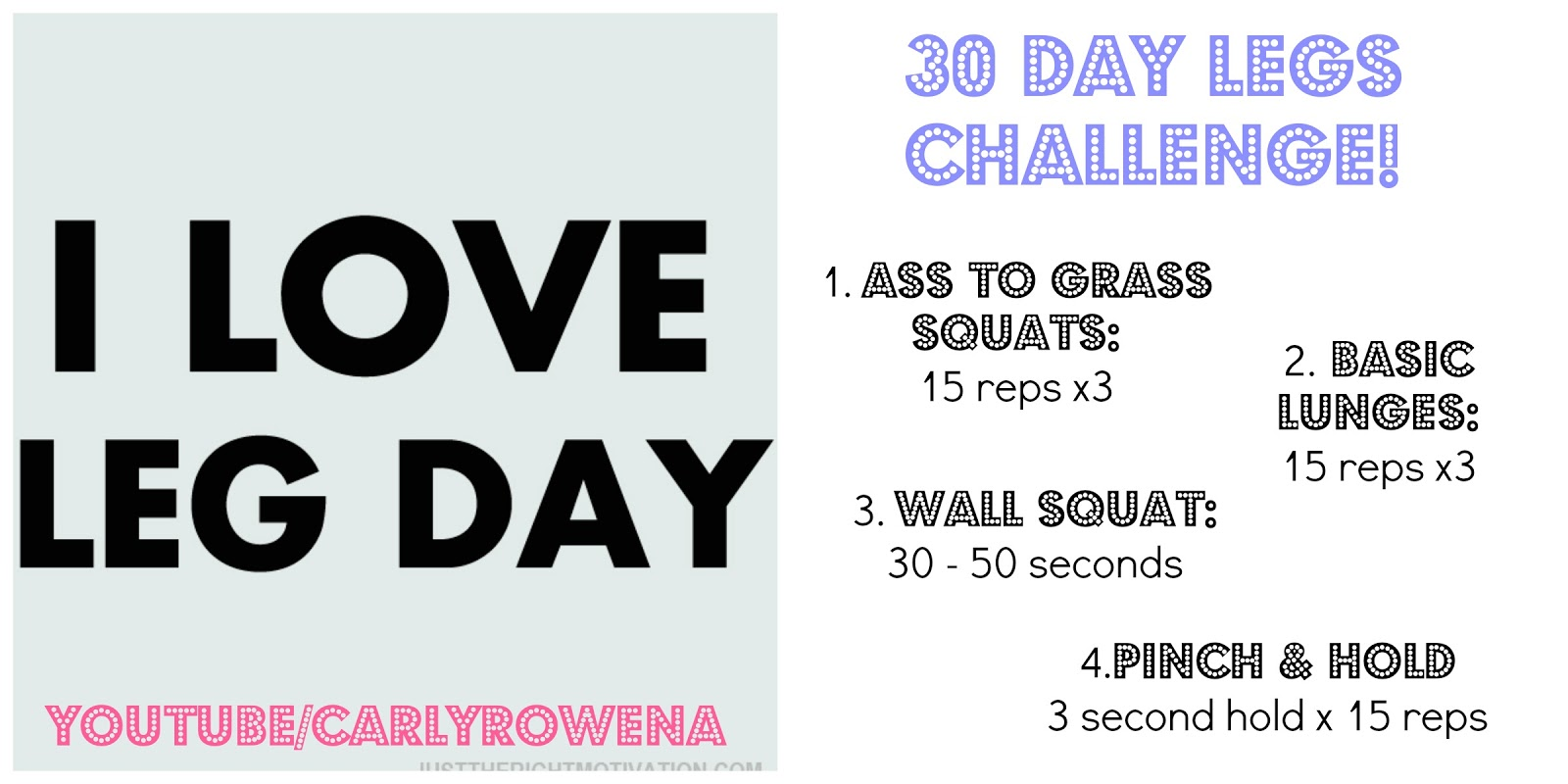 CarlyRowena // Fitness Blogger: 30 DAY CHALLENGE // TONED ...