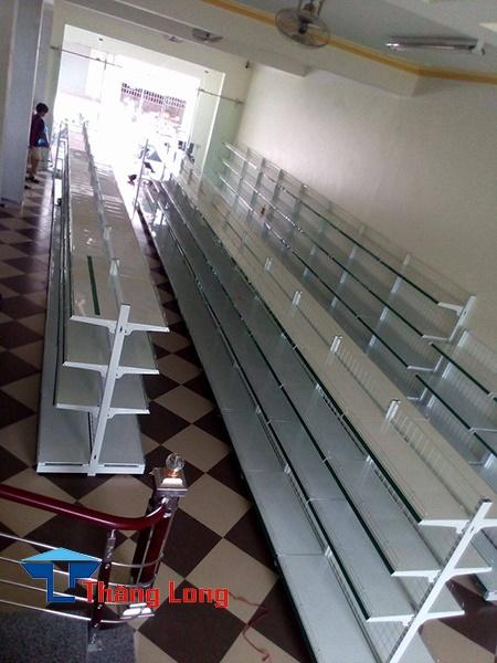 Lắp đặt kệ siêu thị tại Vĩnh Yên Vĩnh Phúc.