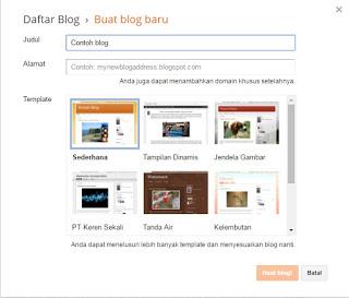 Cara membuat judul dan URL untuk blog
