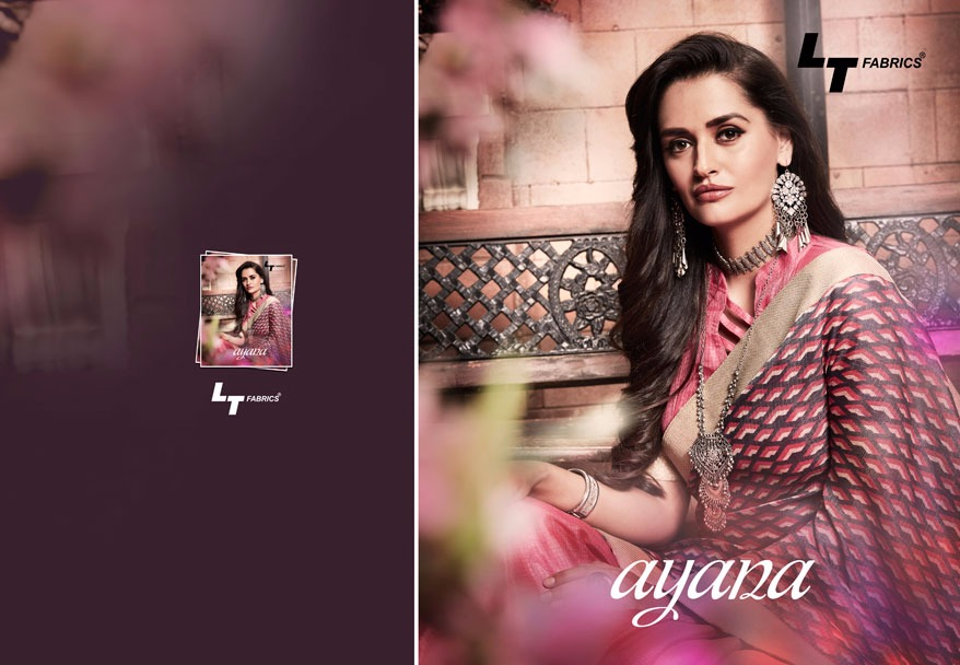 Ayana by LT-New Arrival Designer pure silk Saree