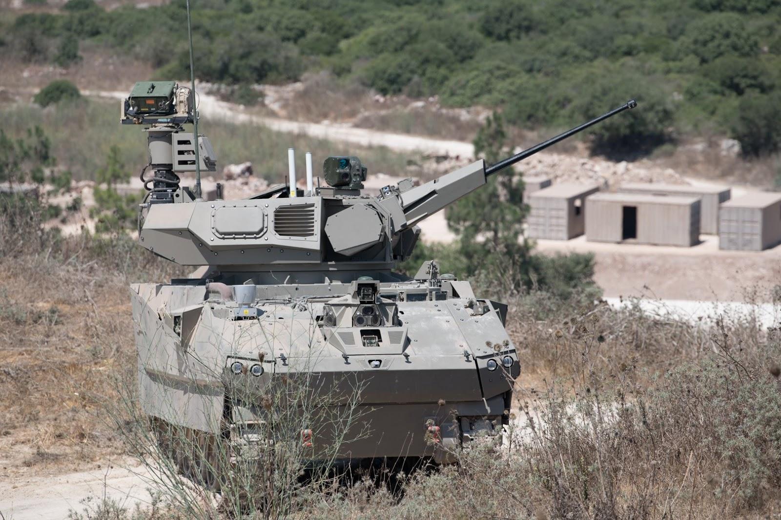 ізраїльські демонстратори перспективних бронемашин