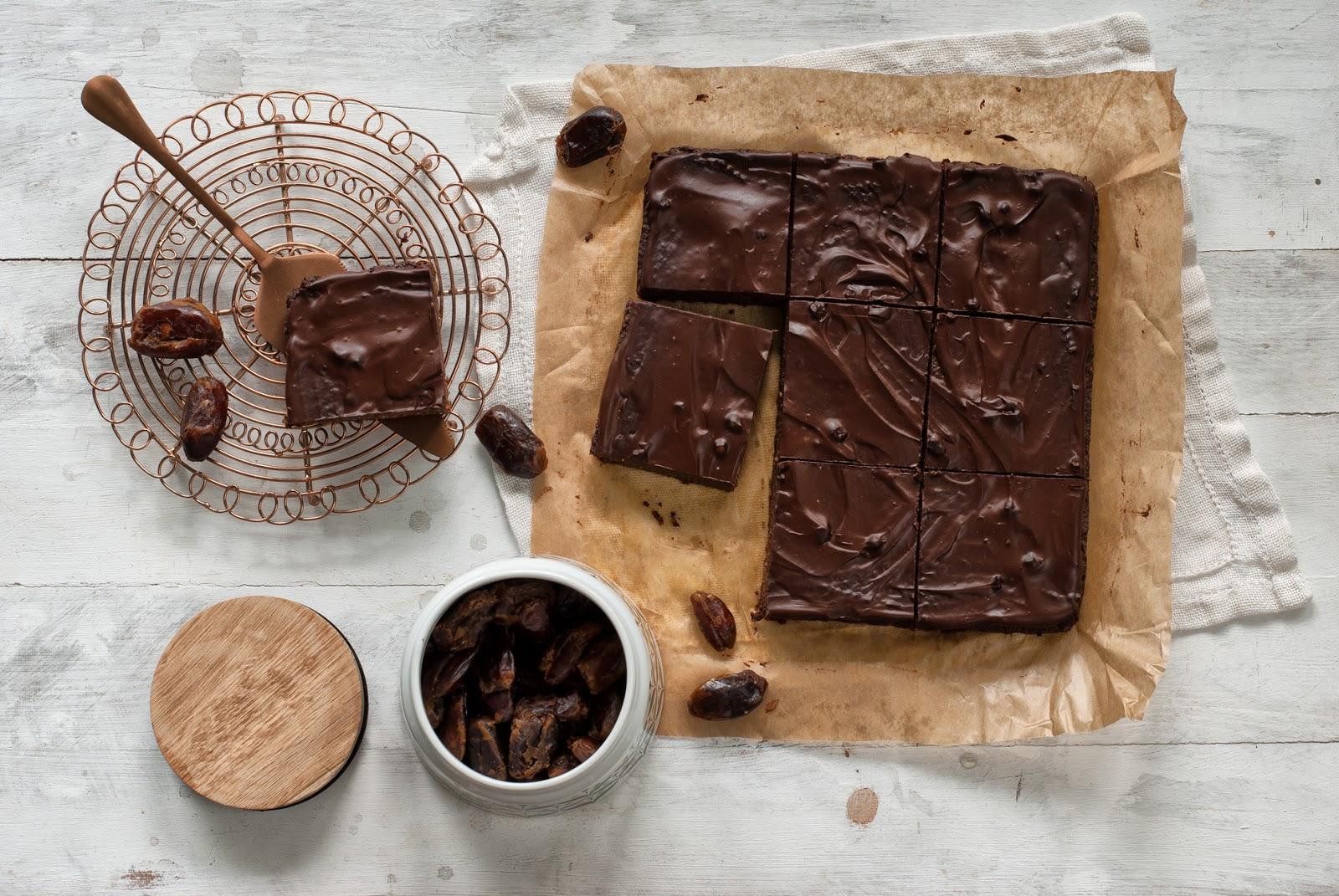 Brownie z batatów i daktyli bezglutenowe