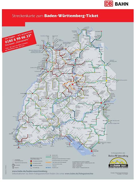 Baden Wurttemberg Karte Db.Baden Wurttemberg Ticket Karte Karte 2020