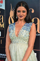 Vimala Raman in Spicy Deep Neck Sleeveless Dress at IIFA Utsavam Awards 2017  Day 2 at  03.JPG