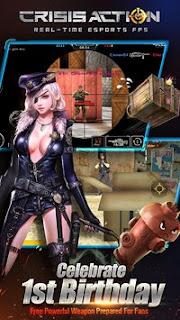 Download Crisis Action Best free FPS V1.9.2 MOD Apk Terbaru