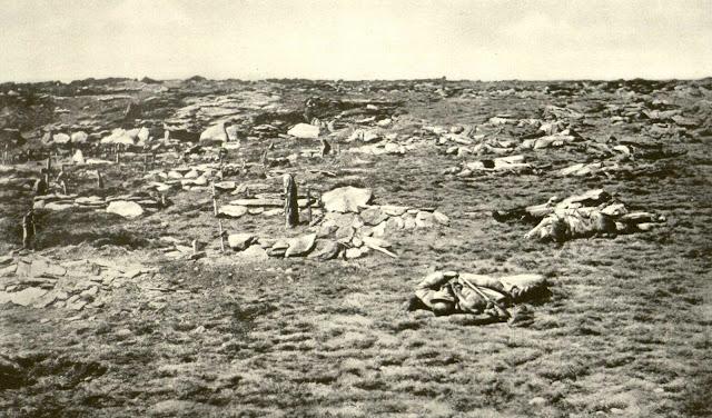 Dead soldiers - Kajmakcalan Battle – 12 - 30 September 1916