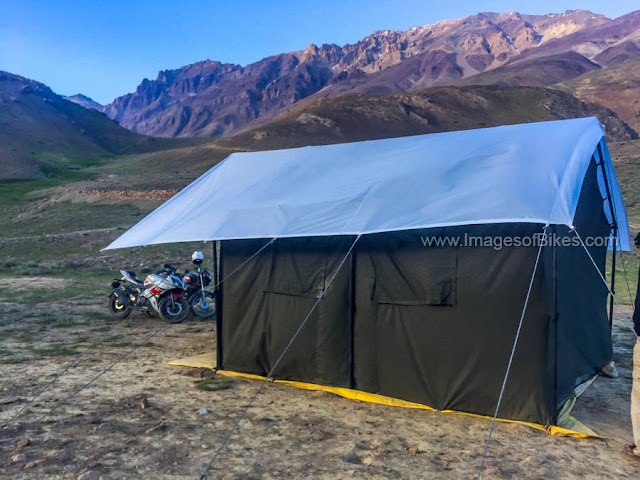 chandratal tent