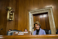 Senator Lisa Murkowski, Republican of Alaska and chairwoman of the Senate Energy Committee, was one of the authors of the bipartisan energy measure passed Wednesday. (Credit: Zach Gibson/The New York Times) Click to Enlarge.