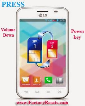 Hard Reset LG Optimus L4 II Dual E445