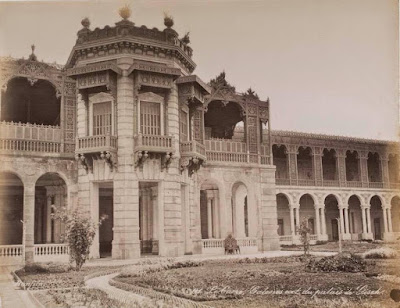 The Giza palace museum facade